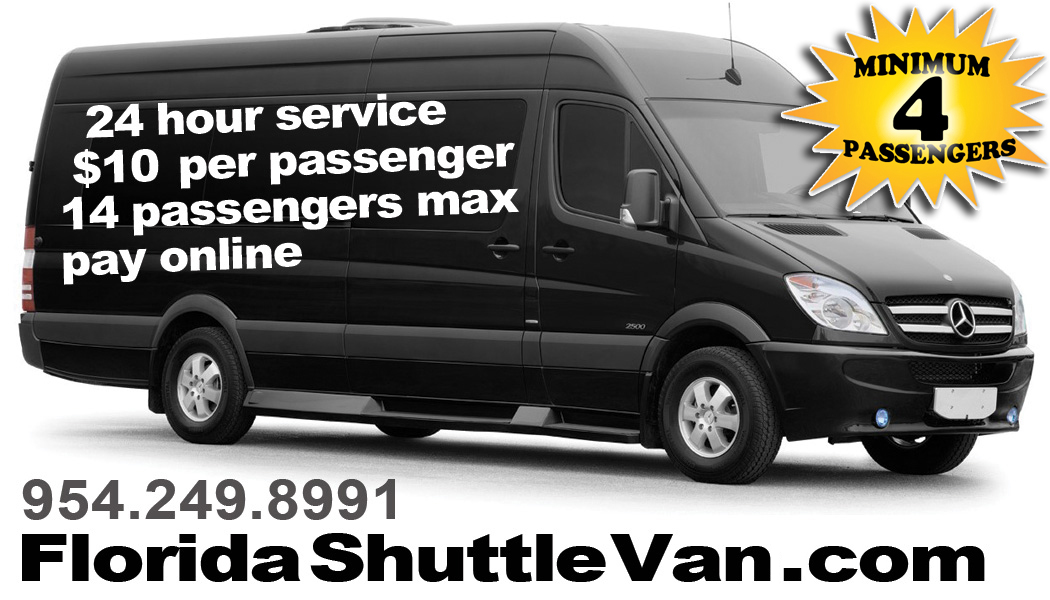 Fort Lauderdale Shuttle Van